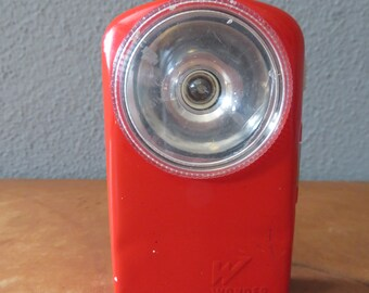 Old French flashlight hand lamp 60s Cult
