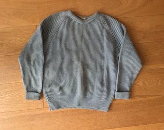 039df6be2 Blue wool jumper