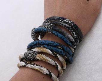 4c2de00d315e 1-5-10 pcs PU bracelets
