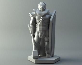 Nordic Human Priest D&D mini
