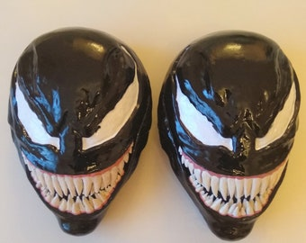 Black Symbiote VENOM MASK from Venom movie