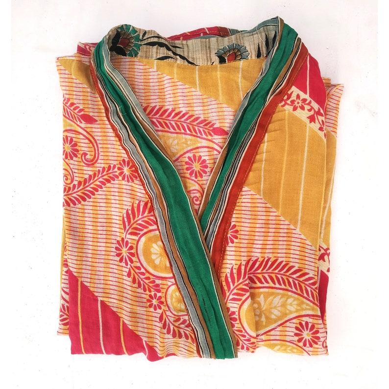 Boho gifts for her Bridal Robe mothers day Assorted Mixed Vintage Cotton  kimono,,Dressing gown Bridesmaid robes cotton  Kimono Robe