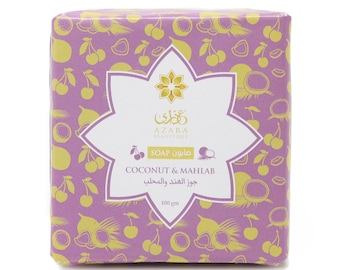 Coconut and Mahlan Soap