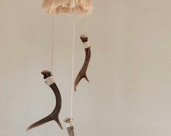 Antler chandelier etsy antler chandelier aloadofball Gallery