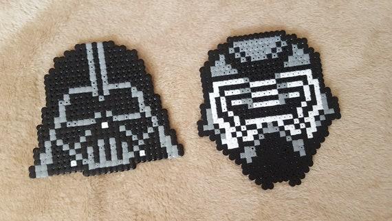 Masque Dark Vador Et Kylo Ren Star Wars Pixel Art Etsy
