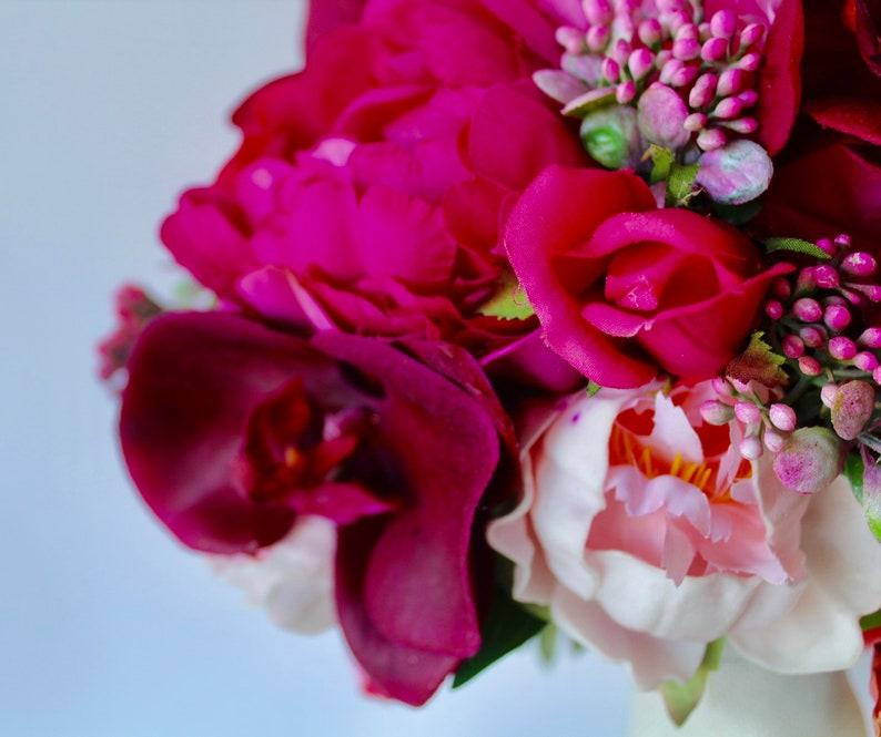 Wedding Bouquet Artifical Bouquet Orchid Bouquet Wedding Bouquet Pink Bouquet Bouquet