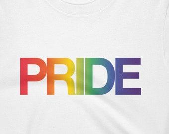 Pride Rainbow Crop Top