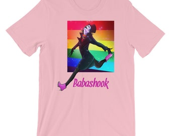 Babashook LGBT Pride Rainbow Flag Unisex T-Shirt