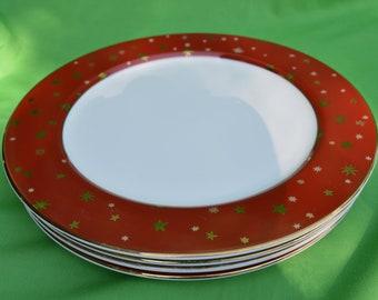 Christmas plates | Etsy