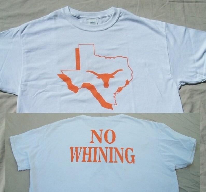 new concept 83304 d0414 Texas Longhorns shirt, Double sided screen printed T-shirt, Hook 'Em Horns  T-Shirt - UT Shirt, University of Texas Tee - Longhorn Football