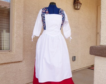 Pinner Apron / Colonial / Historical / Victorian / Civil War