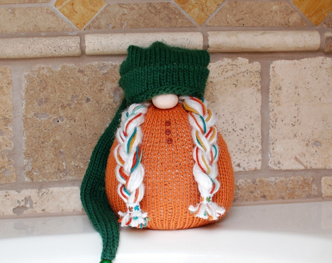 Annabel the Pumpkin Gnotable Gnome
