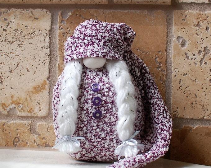 Purple Sparkle Gnome - Shae