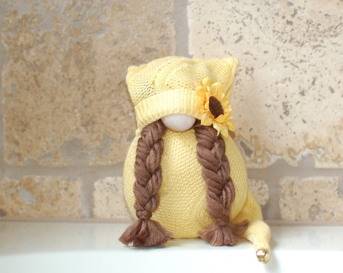 Ava the Sunflower Gnome