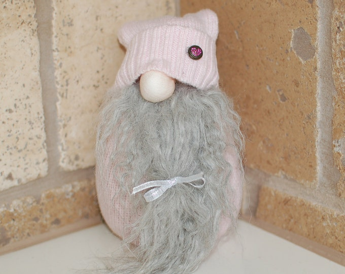 Pink Valentine's Day Gnome - Marc
