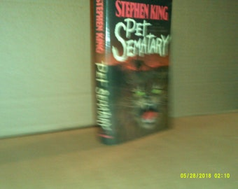 Pet Sematary 1983 Hardcover by Stephen King