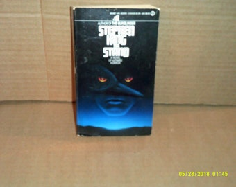 The Stand Stephen King 1980 Signet First Printing paperback