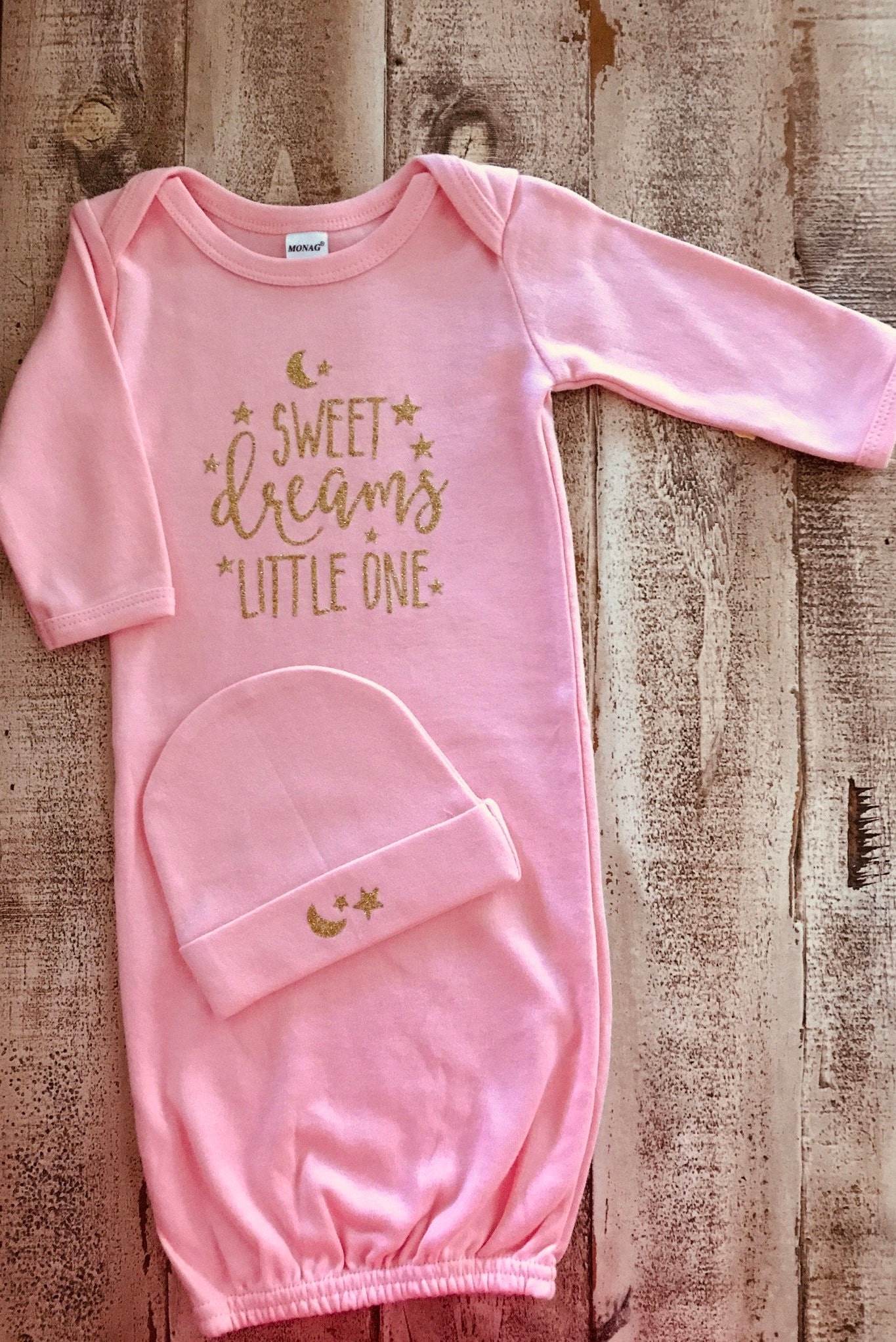 f6a584827 Baby Girl Gown Newborn Baby Gown Baby Shower Gift Sweet