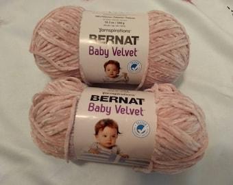 Bernat velvet yarn | Etsy