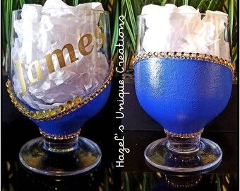 e1e34b0831d Custom made Cognac Glass. hazeluniquecreations