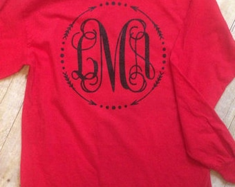 monogram t-shirts and decals
