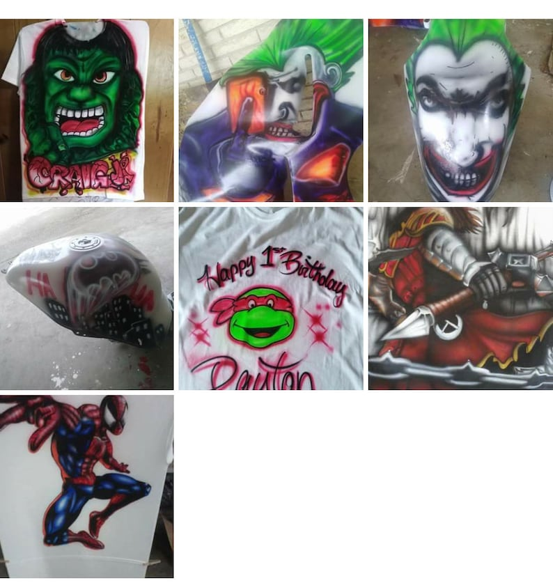 comic anime characters we can airbrush them all. Personalized cartoon