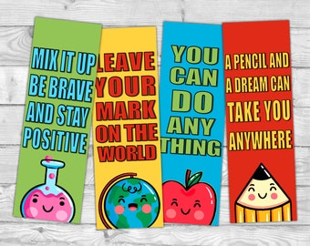 graphic about Printable Bookmarks for Kids named Bookmarks children Etsy