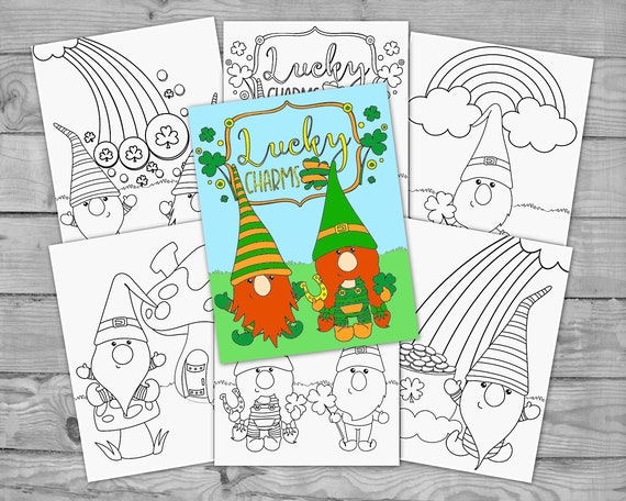 Printable St Patrick's Day Coloring for Kids St