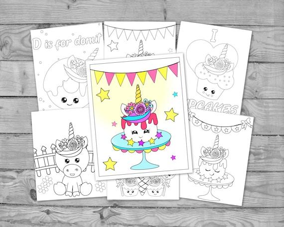 Printable Kawaii Coloring Pages for Kids Kawaii Activity