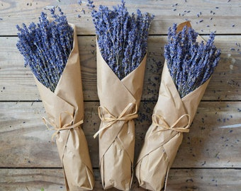 6 bunches of Dried English Lavender Lavender