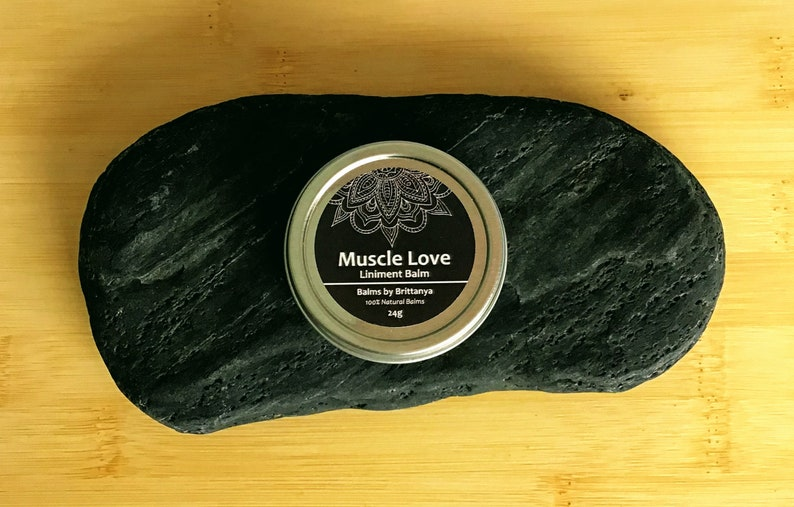 Muscle Love Liniment Balm 24g Strong Sore Muscle Rub Pain image 0