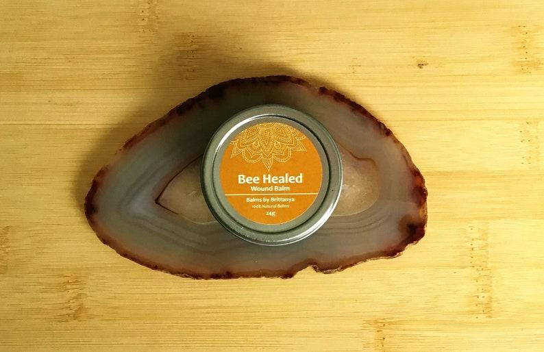 Bee Healed Wound Balm 24g Natural Honey Wound Salve image 0
