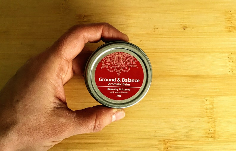 Ground and Balance Aromatherapy Body Balm 24g Aromatic Body image 0