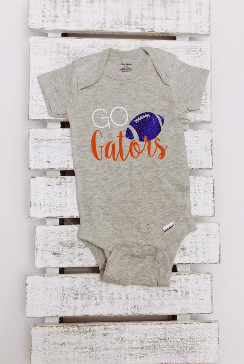 2109f1ac Go Gators - University of Florida - Florida Gators - Baby Onesie or  Baby/Toddler T-Shirt
