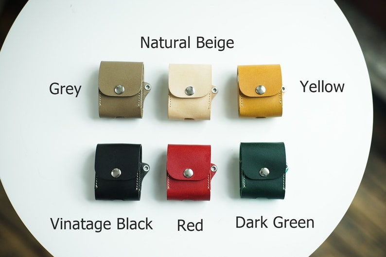 600 AirPods Pouch Leather AirPods Case