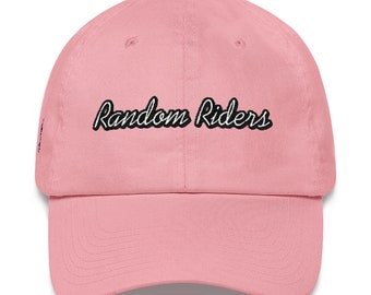 Random Riders Cap, embroidered, Unicycle, comfort, true rider, pink, skate park, unicyclelife