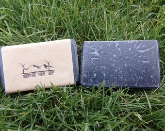 Black Marble: Charcoal and Tea Tree soap