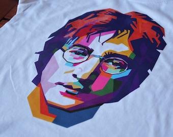 8343770d0881 John Lennon T-shirt for Kids, John Lennon Gift, Music Shirt for Children,  The Beatles Kids' T-shirt, John Lennon PopArt Tee, Free Shipping