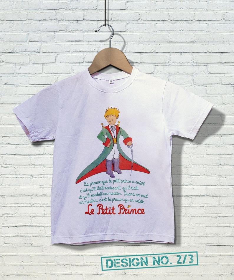 FREE Shipping Le Petit Prince Children s T-shirt Le  742d9a50bd0b