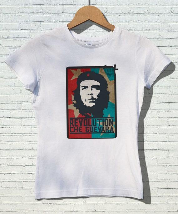 e3d8e4031 Che Guevara T-shirt for Women Gift for Her Revolution Shirt | Etsy