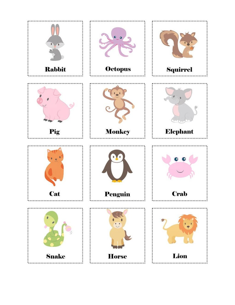 picture about Charades for Kids Printable named Animal Charades Activity for Children, Remarkable Participate in Printable, Stream, Child or Preschool Things to do, Immediate Obtain