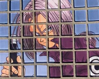 Trunks Glass Mosaic Trivet