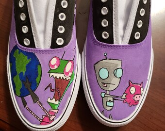 Character Hand Painted Shoes
