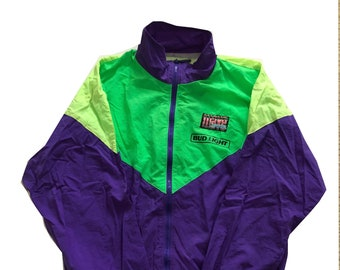90s Brooks Tri-Colour Windbreaker