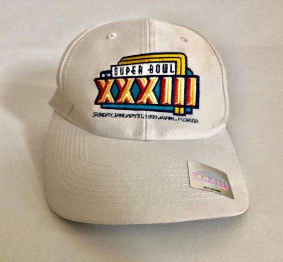 Vintage Superbowl XXXIII Broncos Miami snapback by Logo 7 with  11566f0f3