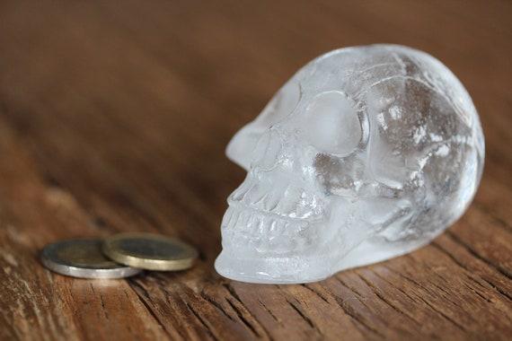 The Very Crumpled Vanity Crystal Skull