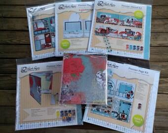 Quick Quotes scrapbook kits plus album