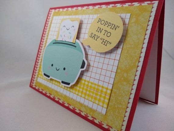 unique card handmade pun card I care card friend valentine card I love you card date night card pop tart card funny anniversary card