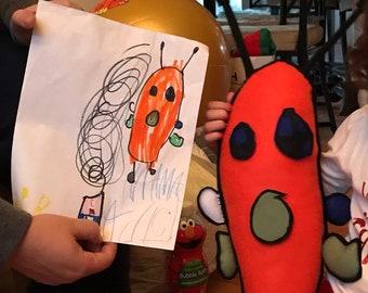 2b3a2cf0d64b Kids Drawings customized doll