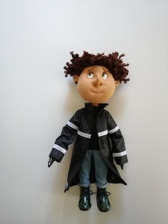 Wybie Lovat Doll With Regular Eyes Handmade Doll Inspired Etsy